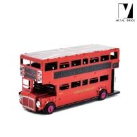 [메탈브릭] 영국2층버스