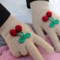 winter cherry gloves 겨울 체리 장갑