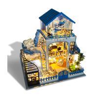 [adico]DIY 미니어처 풀하우스 - 하와이안펜션