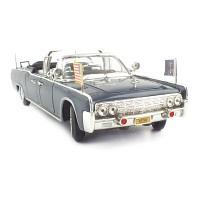 1/24 1961 링컨 X-100 케네디 대통령차 (YAT240480BL)