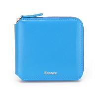 Fennec Zipper Wallet-005 Blue