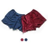 [쿠비카]심플한 고급 로얄샤틴 팬츠 여성잠옷 W317