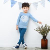 [엠엘스토리] 삐삐롱 블루램 9부기모슬림핏이지세트