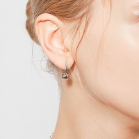 i_e66 - bing ball hoop earring