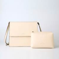 Trapezoid Cross Bag (Ivory) - P007C_IV