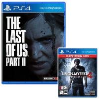 PS4 더 라스트오브어스 파트2 + 언차티드4 (더블팩)