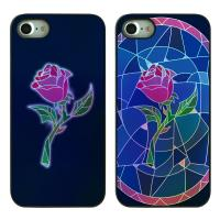 DPARKS STAINED GLASS ROSES TWINKLE CASE