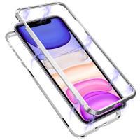 뮤즈캔 아이폰11 마그네틱 풀커버 글라스 케이스