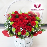 [엔젤스플라워] 장미 한아름_일반형 전국꽃배달서비스 AGFYHF06BS