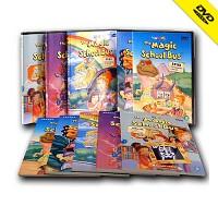 [영어 DVD]The Magic School Bus 신기한 스쿨버스 1집_5편(영한대본 5권포함)/초등영어