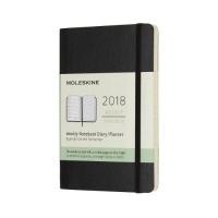몰스킨 2018위클리/블랙 소프트 P