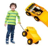 해피플레이 아동 트럭 캐리어 어린이 여행가방