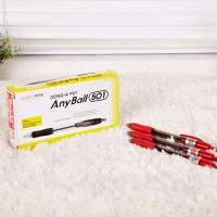 애니볼 501 1.0mm-빨강12개(묶음)