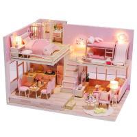 DIY 미니어처하우스 핑크빛 향기