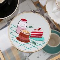 프랑스자수 DIY세트 오후의 카페