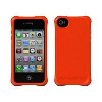 [충격완벽보호 볼리스틱 케이스] BALLISTIC Shell Ballistic LS iPHONE 4. with TPU 4 Bumpers (Orange) [완벽하게 스마트폰 보호 소재]