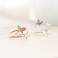 Butterfly Paradise Ring