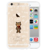 i-phone 6 Clear Standing cat