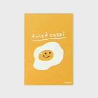 [어프어프] 엽서 Fried eggs-yellow