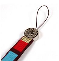 색동열쇠고리(연화문)