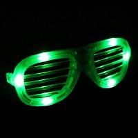 LED셔터쉐이드안경-그린