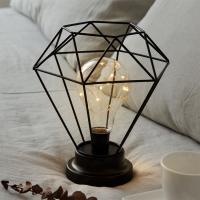 스파클링 LED 무드등 [블랙] (건전지타입/취침등)