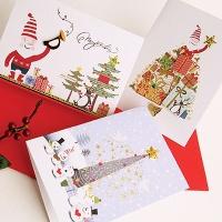 FS506(12종 한세트) 크리스마스카드 카드 성탄카드