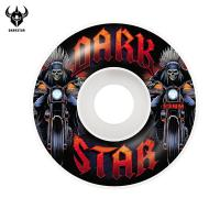 [DARKSTAR] ROADIE WHITE MASTER URETHANE WHEELS 53