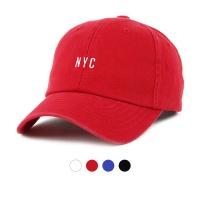 [디꾸보]코튼 워싱 NYC 볼캡 모자 ET725