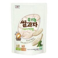후디스 유기농 쌀과자 떡뻥 시금치