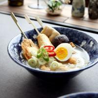 일본식기 하나미 면기