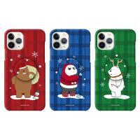 위베어베어스 크리스마스 코스튬 슬림케이스+허브톡
