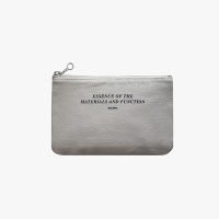 Slim pouch wallet(M)-Lightgray