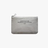 Slim pouch wallet(M)-Lightgray
