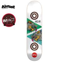 [ALMOST] CHRIS HASLAM DOUBLE TROUBLE DI DECK 32.1 x 8.5