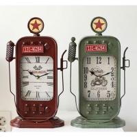 [2HOT] 빈티지 철제 주유기 사각 시계