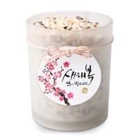 동백꽃 새해복 원형 [텍] (10개)