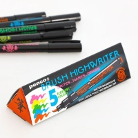 [PENCO] BRUSH HIGHWRITER 하이라이터 5색 SET