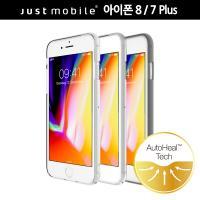 저스트모바일 아이폰 8/7 플러스 투명 범퍼 케이스 PC-179