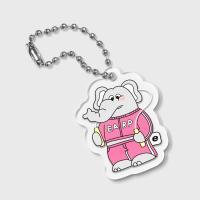 jumping kkikki-pink(키링)