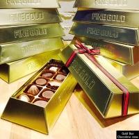 골드바 틴케이스 초콜릿상자 10구