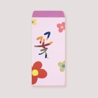 [봉투]꽃 일러스트 봉투 3매입 EP502