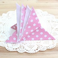 도트 파티냅킨-핑크(20매)