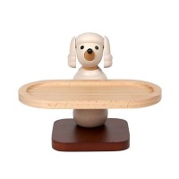 [WOODERFUL LIFE] POODLE WOODEN TRAY