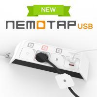 네모탭 USB 3구 3m 블랙