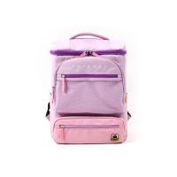 팬콧 원통 메쉬투포켓 백팩 핑크
