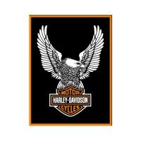 노스텔직아트[14228] Harley-Davidson Eagle Logo