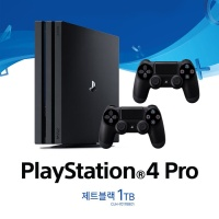 PS4 Pro 본체 CUH-7017B (1TB)  + 듀얼쇼크4 추가구성