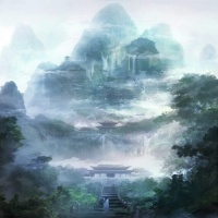 [피포페인팅]K159 Temple size 40*50cm 그림그리기