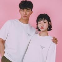 [옐로우스톤] 오버핏 티셔츠 Overfit T-Shirts  -YS103WH /White